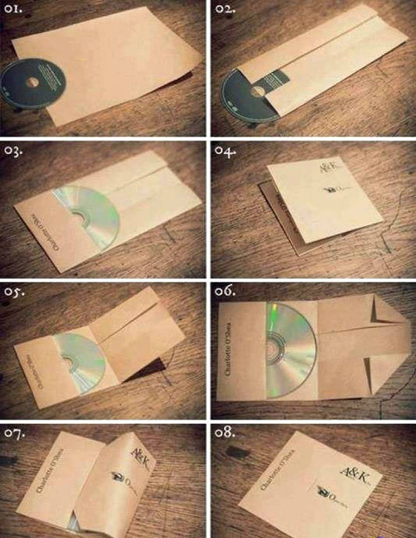 Creative CD, DVD, and Blu-Ray Disc Cover Art Design