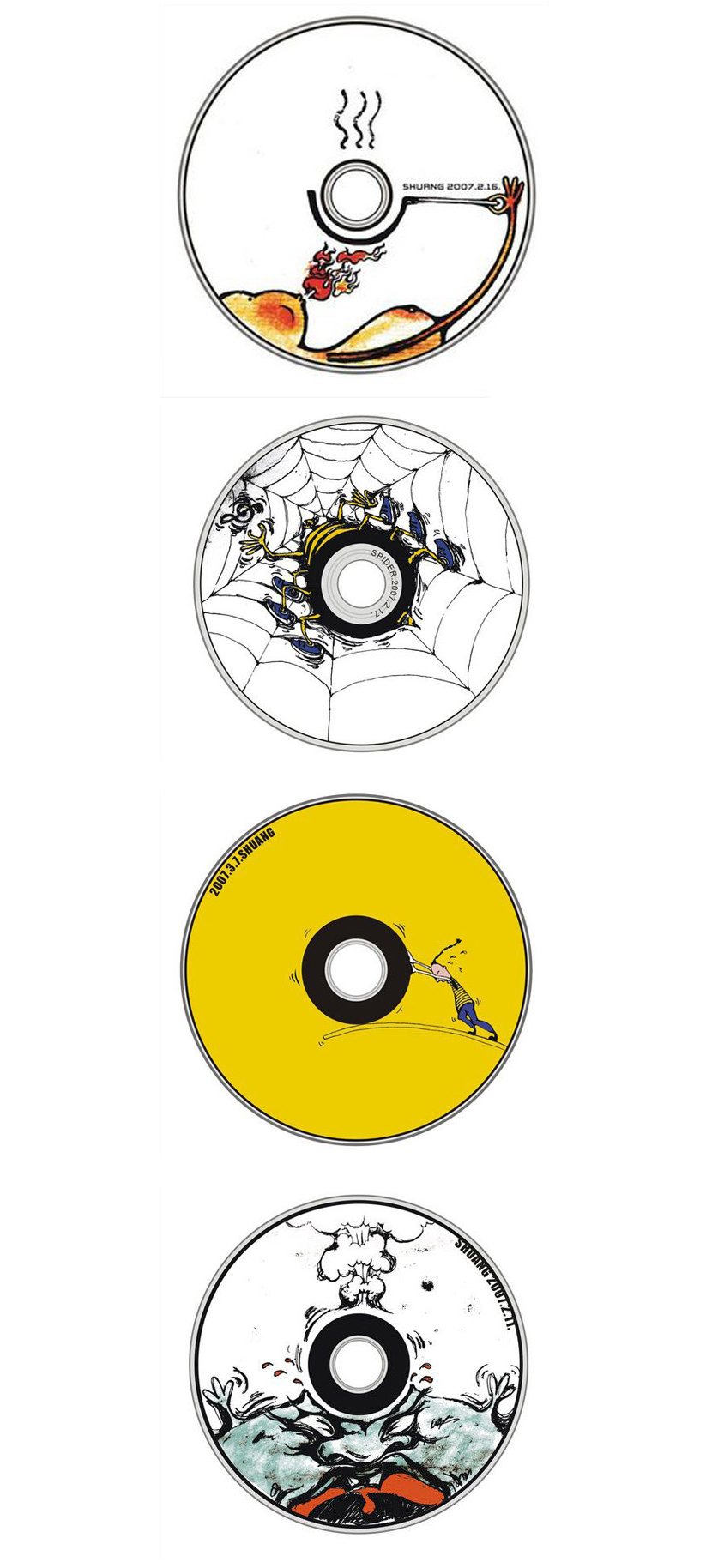 Creative CD DVD Design