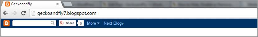 How to Hide, Disable or Remove Blogger Blogspot NavBar?