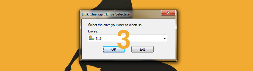 windows cleanmgr disk space installation