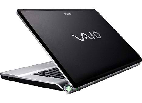 Sony Vaio VGN-FW55GF Laptop and Windows 7