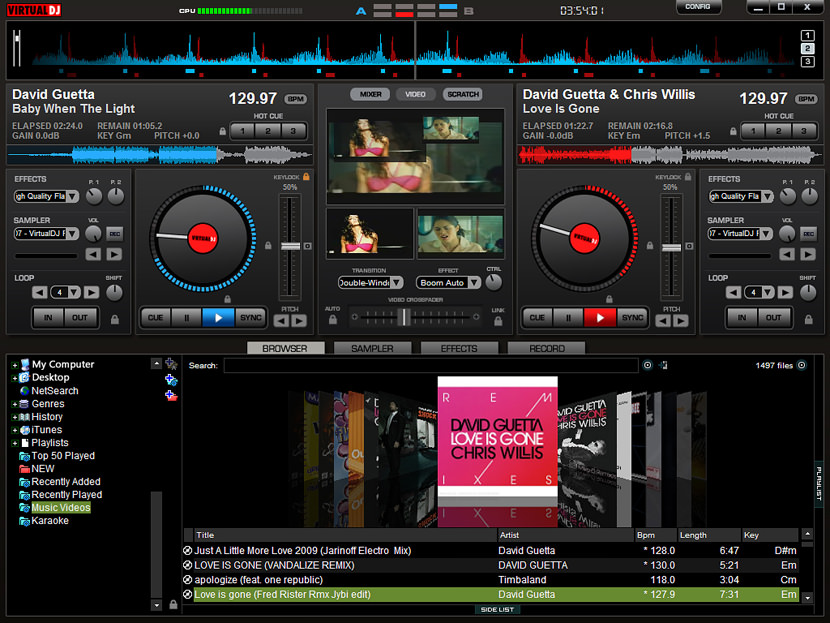 The automatic seamless loop engine and the brand new synchronized sampler will let you perform astounding remixes live, with no preparation at all.