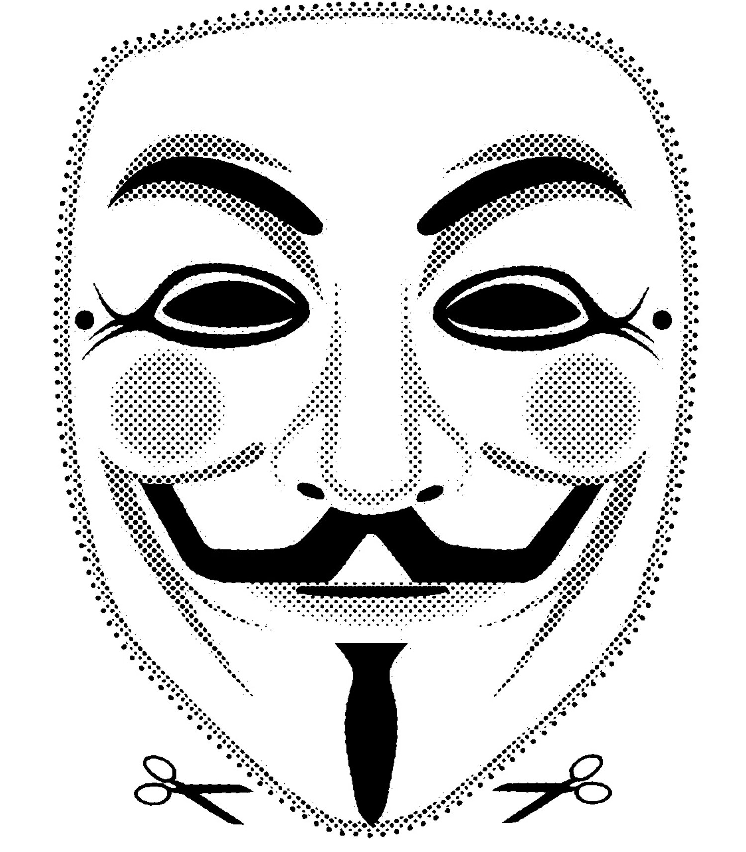 v for vendetta coloring pages - photo #21