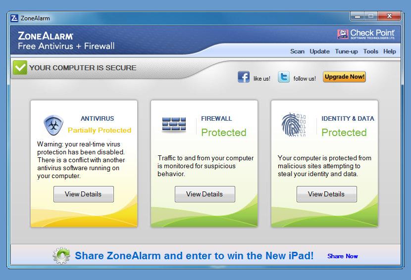 бесплатный файрвол для Windows Xp - фото 4