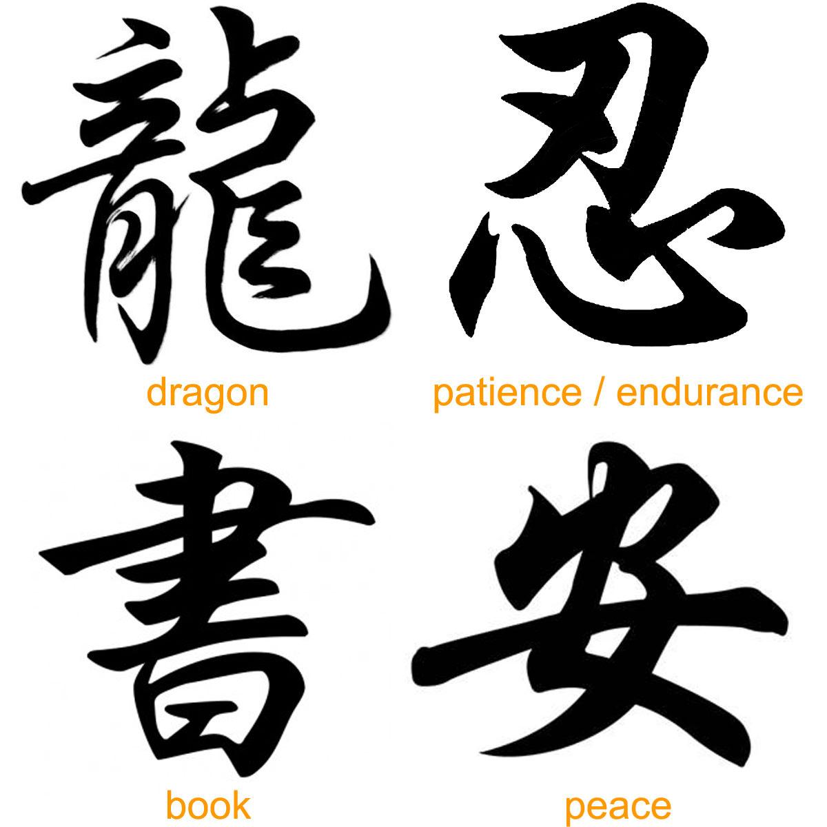 100 Beautiful Chinese Japanese Kanji Tattoo Symbols & Designs