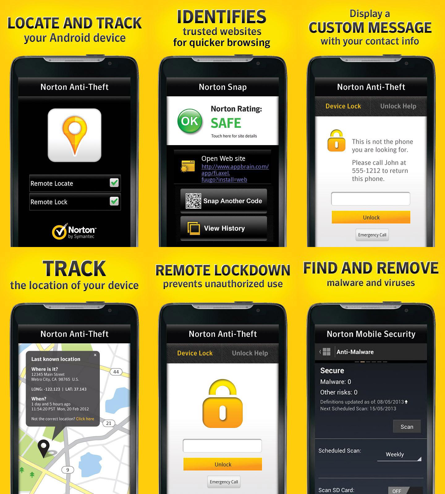 Free Product Key for Norton Mobile Security