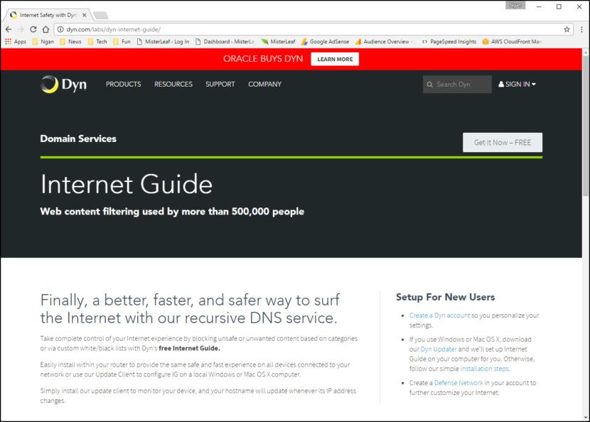 Dyn Internet Guide