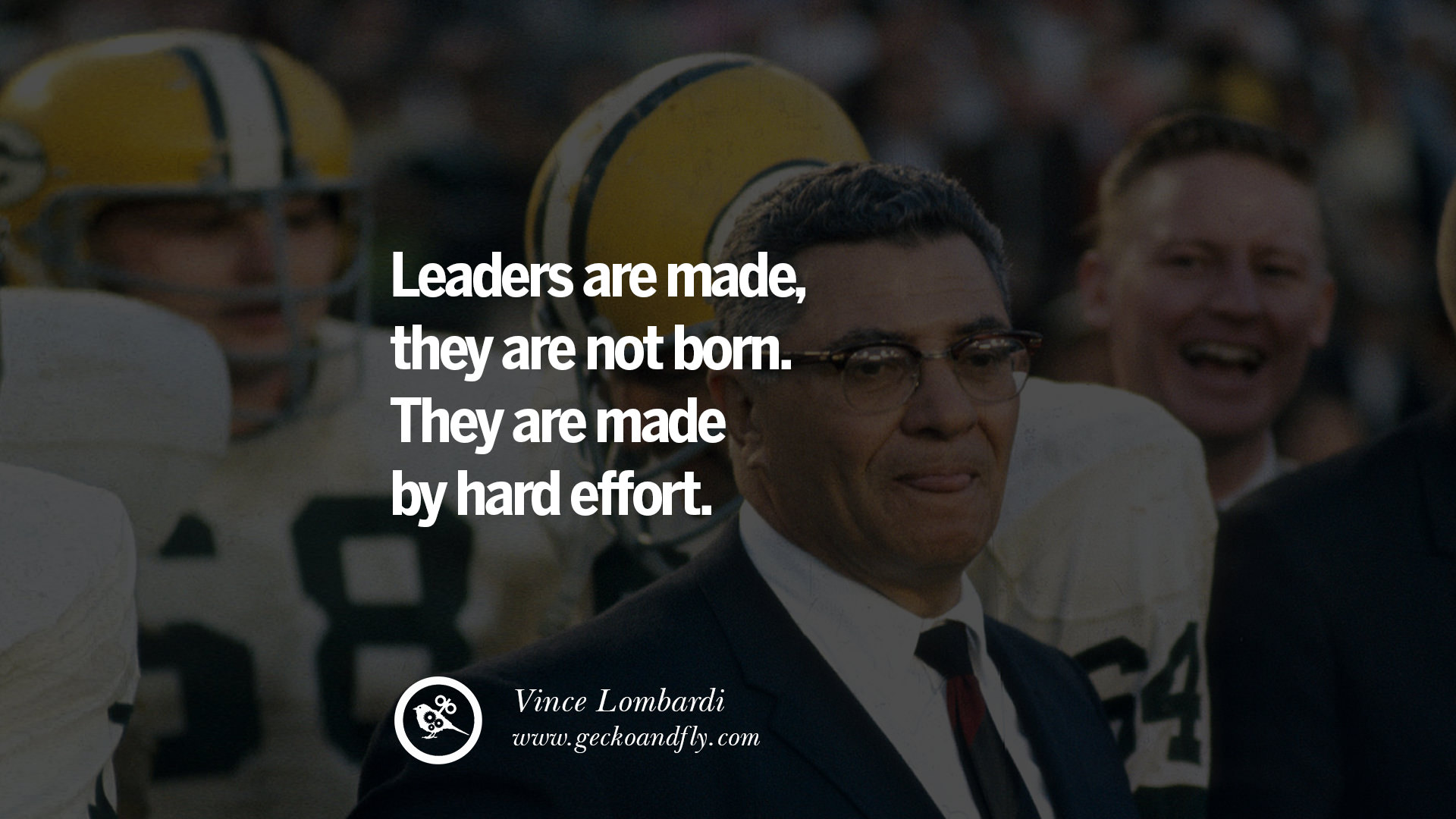 how leaders are made Throughout my life i've been fortunate to learn lessons from many great leaders,  and even some lessons from leaders who weren't so great but i can specifically.