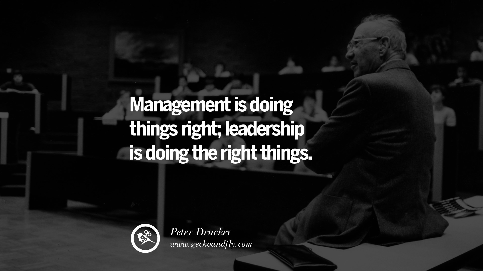 uplifting and motivational quotes on management leadership management is doing things right leadership is doing the right things