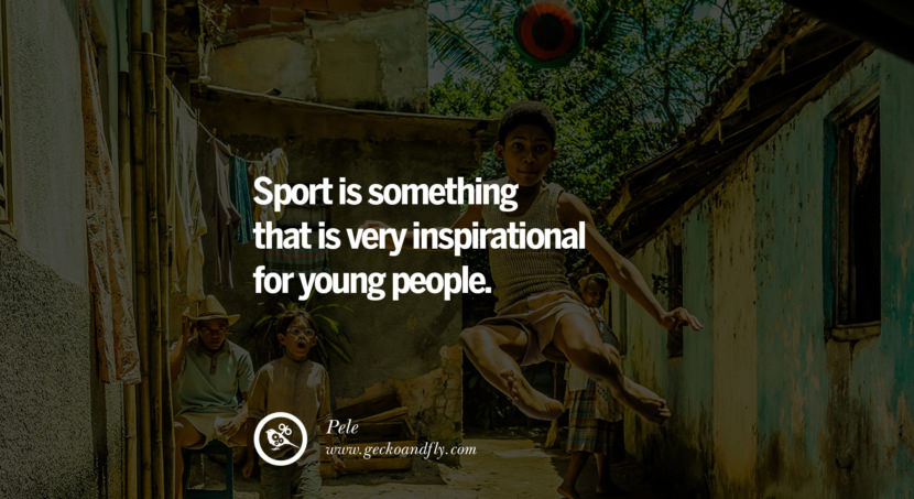 football fifa brazil world cup 2014 Sport is something that is very inspirational for young people. Quote by Pele