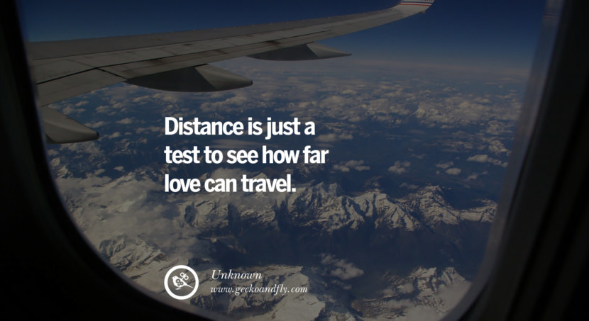 quotes about love Distance is just a test to see how far love can travel. - Unknown instagram pinterest facebook twitter tumblr quotes life funny best inspirational