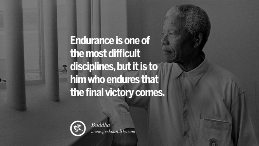Inspirational Motivational Poster Amway or Herbalife Endurance is one of the most DIFFICULT disciplines, but it is to him who ENDURES that the final VICTORY comes. - Buddha best inspirational tumblr quotes instagram