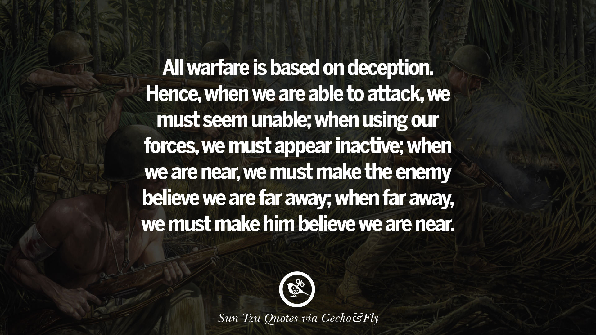 art of war quote wallpaper