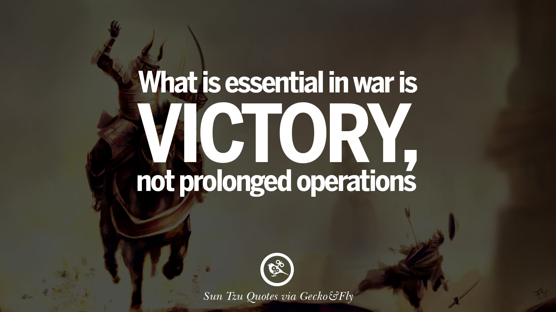 art of war quote paper Sun tzu art , war , chance , enemy , own , fact victorious warriors win first and then go to war, while defeated warriors go to war first and then seek to win.