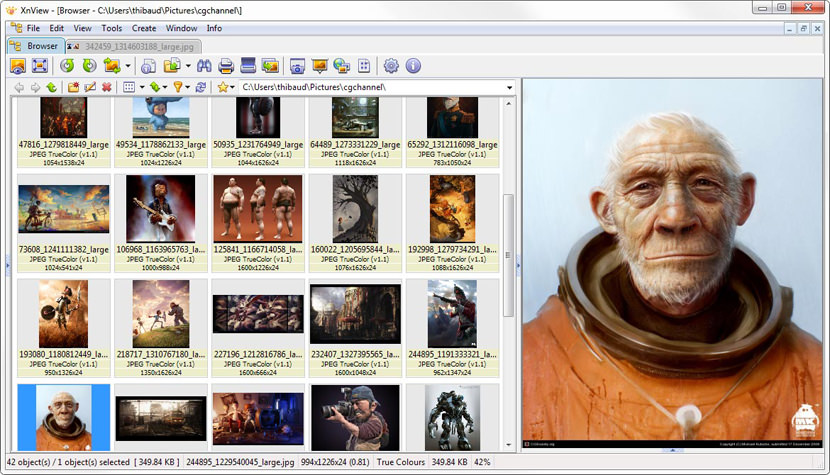 xnview win image browser viewer mac android