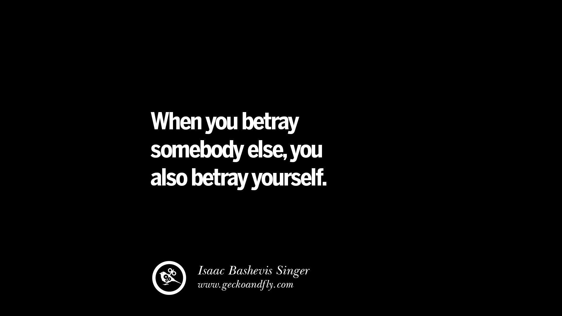 Sayings About Betrayal