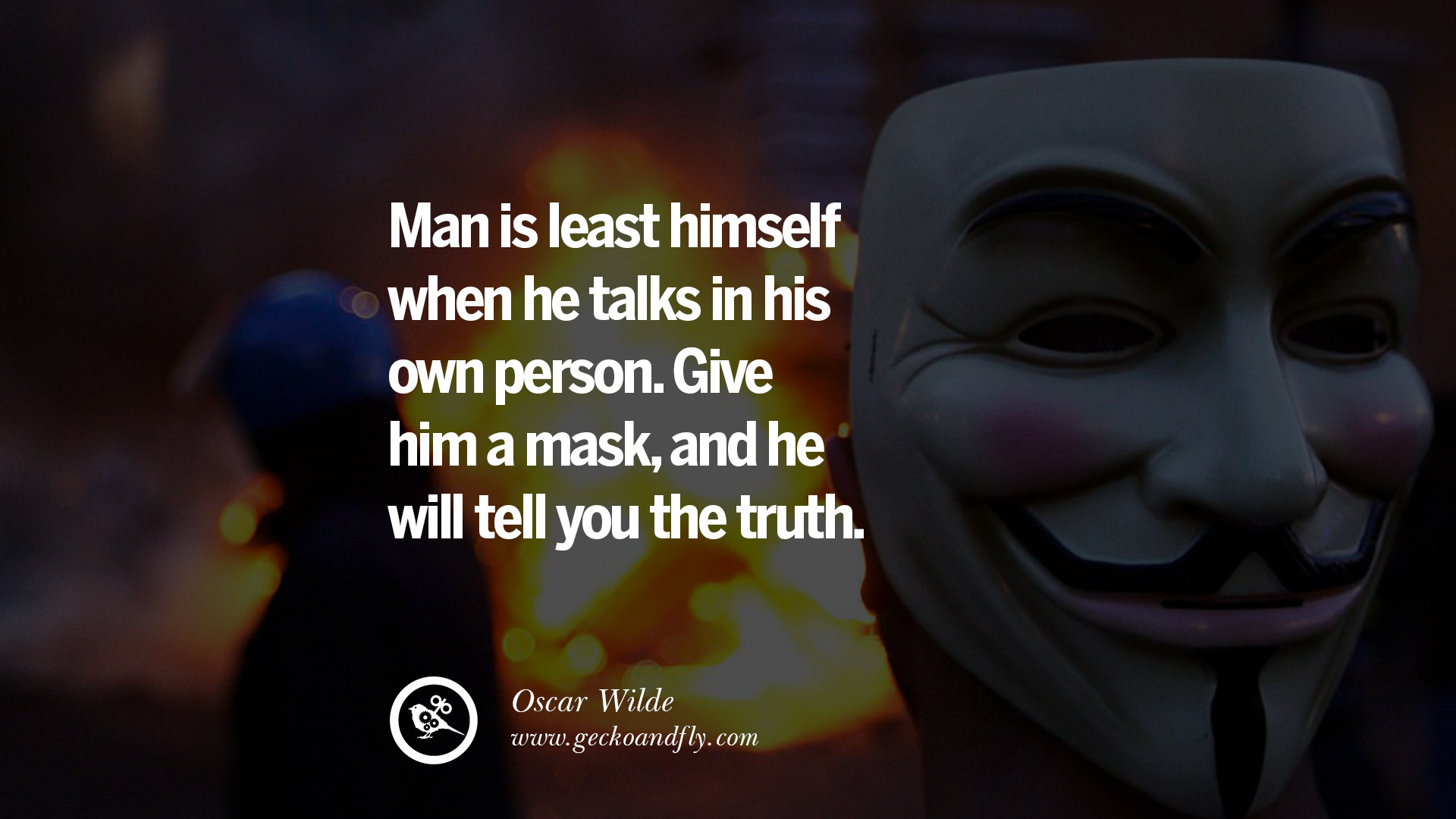 Powerful Love Quotes For Him 20 Quotes On Wearing A Mask Lying And Hiding Oneself