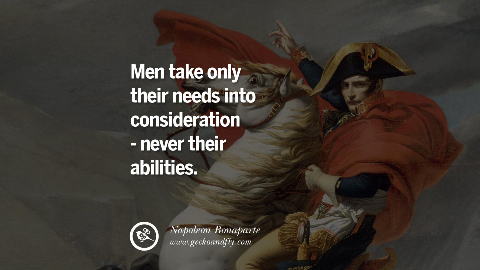 40 Napoleon Bonaparte Quotes On War, Religion, Politics ...