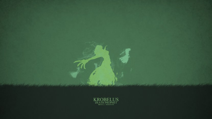 Death Prophet Krobelus download dota 2 heroes minimalist silhouette HD wallpaper