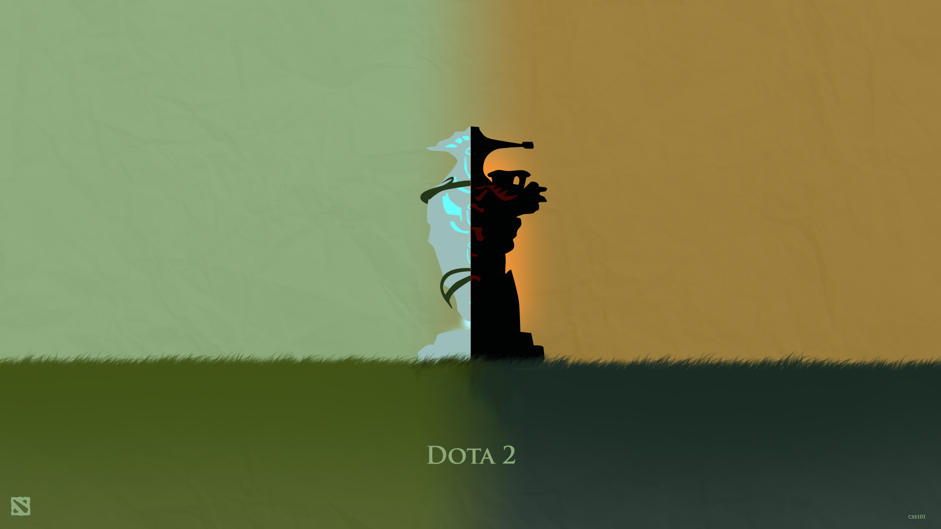 50 beautiful dota 2 posters heroes silhouette hd wallpapers for Deviantart wallpaper