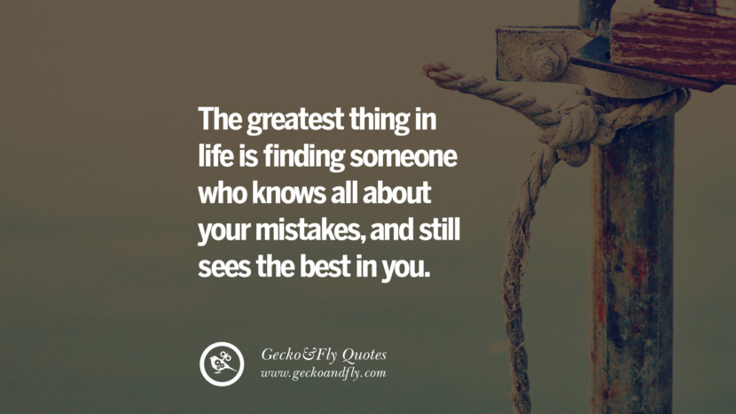 The greatest thing in life is finding someone who knows all about your mistakes, and still sees the best in you. love long distance relationship quotes tumblr instagram Love Quotes On Long Distance Relationship And Romance twitter reddit facebook pinterest