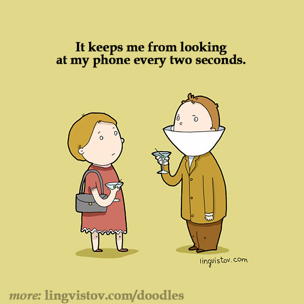 It keeps me from looking at my phone every two seconds. Funny Sarcastic Come Back Quotes For Your Facebook Friends And Enemies smartphone youtube stupid message status instagram facebook twitter pinterest