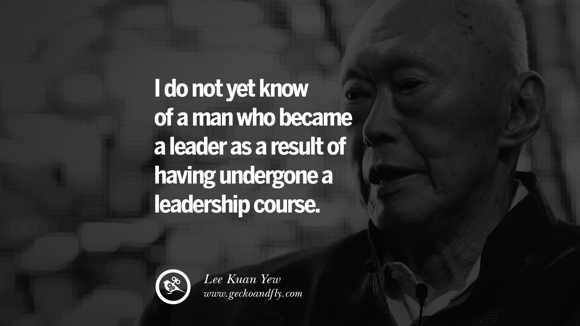 Inspiring Quotes: 25 Inspiring Lee Kuan Yew Quotes On From Third World To First