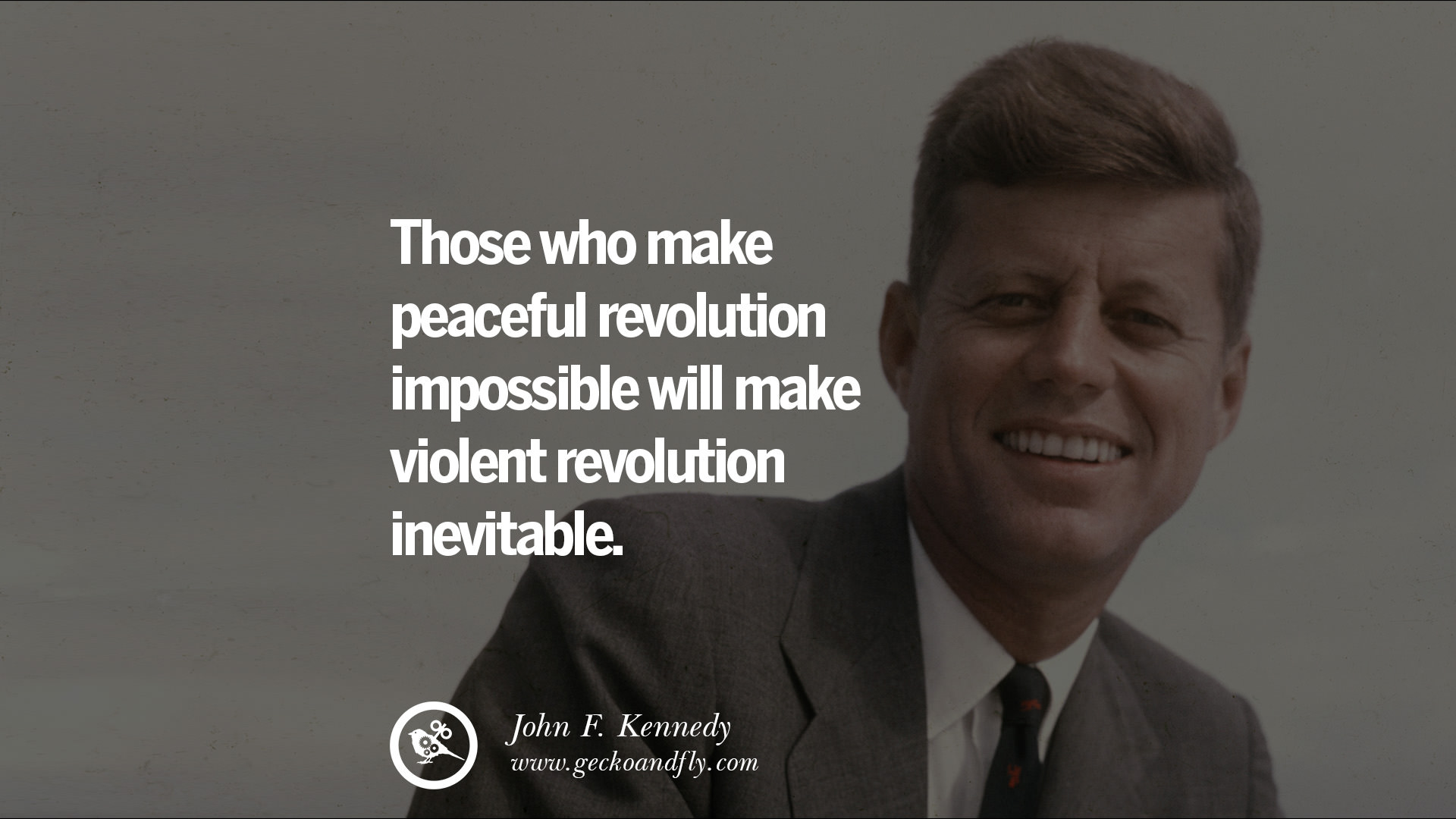 an evaluation of the freedoms made by president john f kennedy Chapter 28 american history study play  which action was part of the policy of president john f kennedy toward the crisis in vietnam  this is a regime which has destroyed freedom.