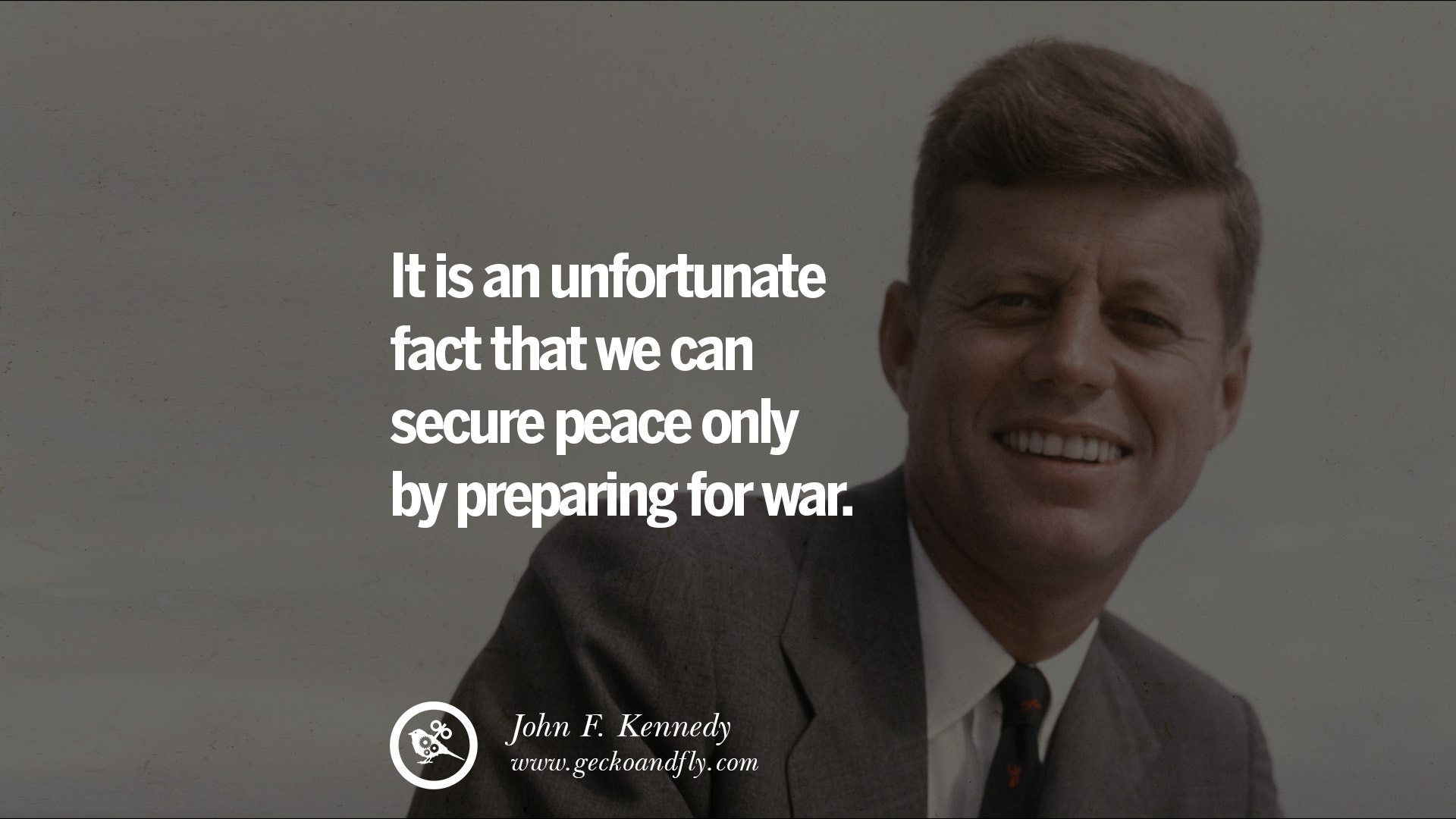 16 famous president john f kennedy quotes on freedom peace war and country geckoandfly 2018 - Peace Quotes