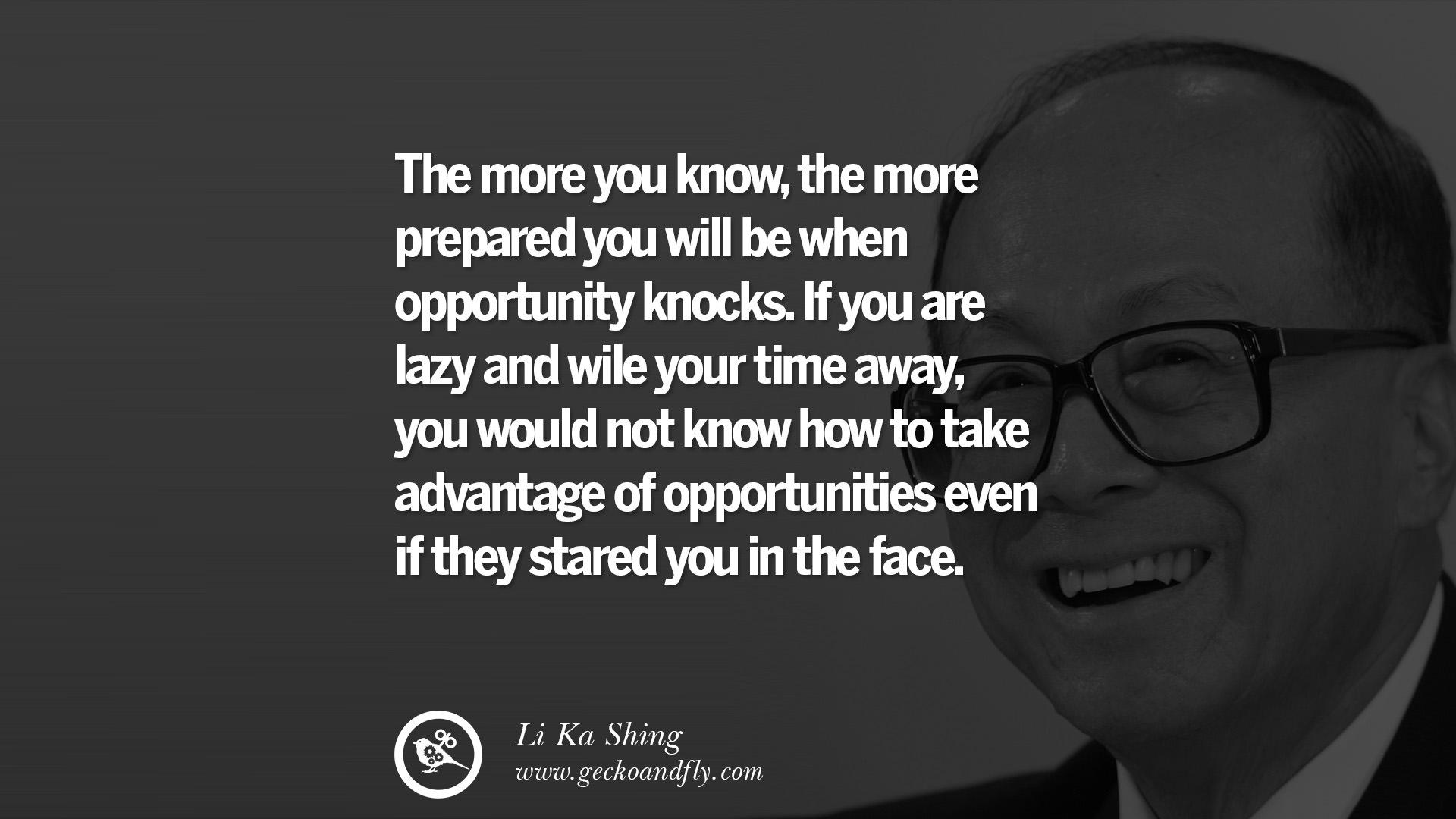 12 Inspiring Li Ka Shing Life Lessons and Business Quotes