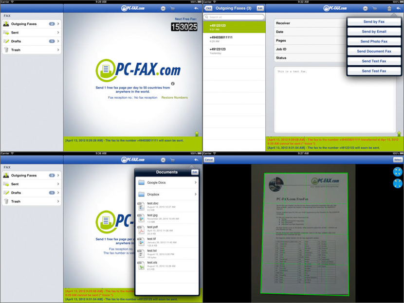 pc fax Best Fax App For iOS iPhone, iPad And Android Smartphone Tablet