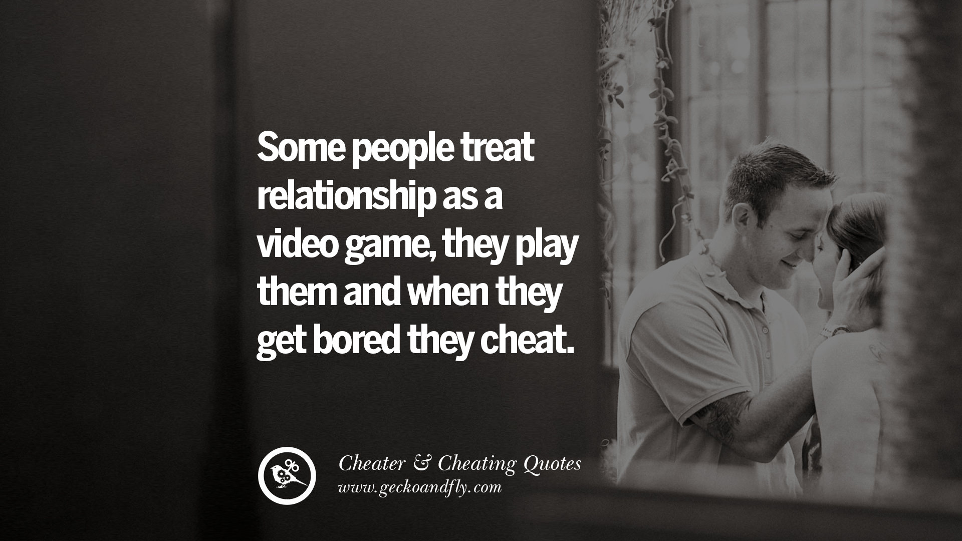 cheating and people When you think about being cheated on, you probably imagine your partner having sex or hooking up with someone else — but cheating isn't always physical: there's also the scary possibility that .