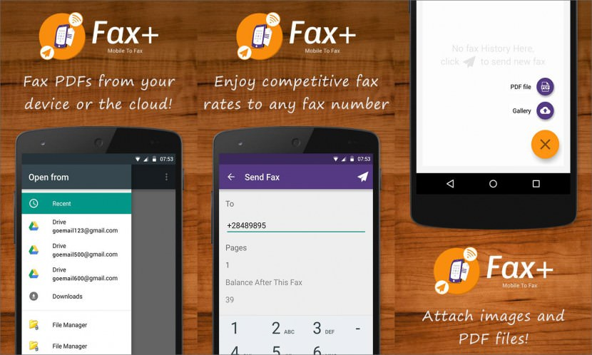 faxing app Guarantee To Work Android Fax App For Samsung, Sony, HTC, LG and More