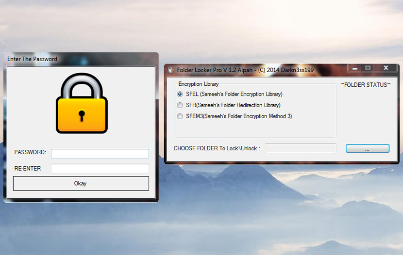 folder locker password Software For Password Protecting File And Folder Locker For Windows encryption