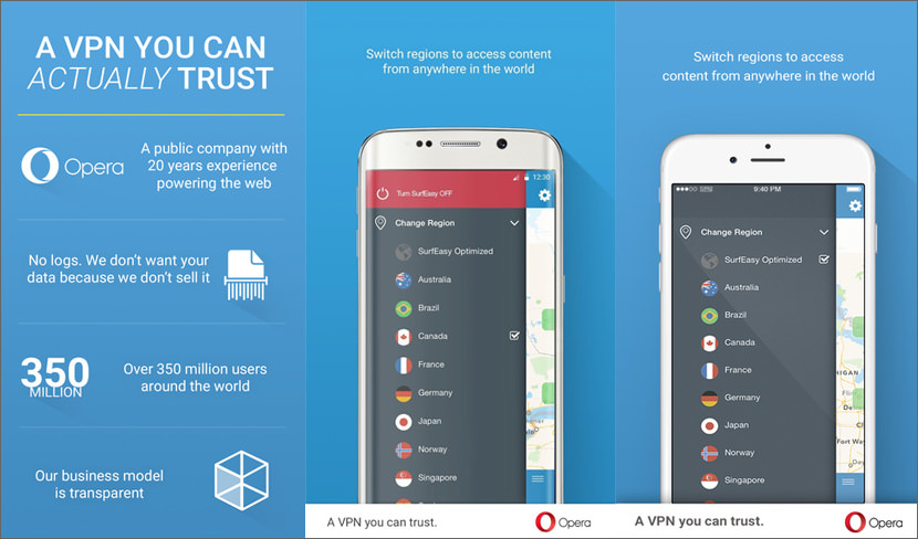 surfeasy vpn opera Most Secure VPN Service By Avast & Opera For Android & iOS