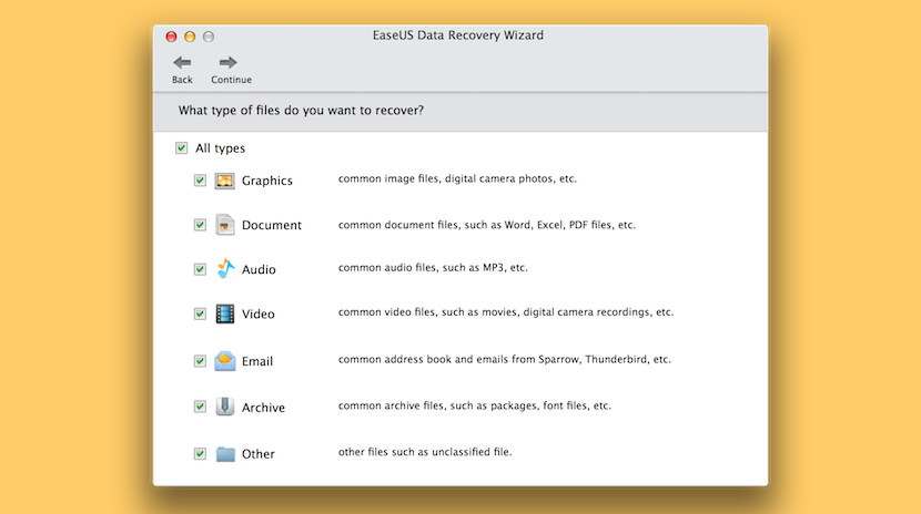 easeus data recovery wizard mac