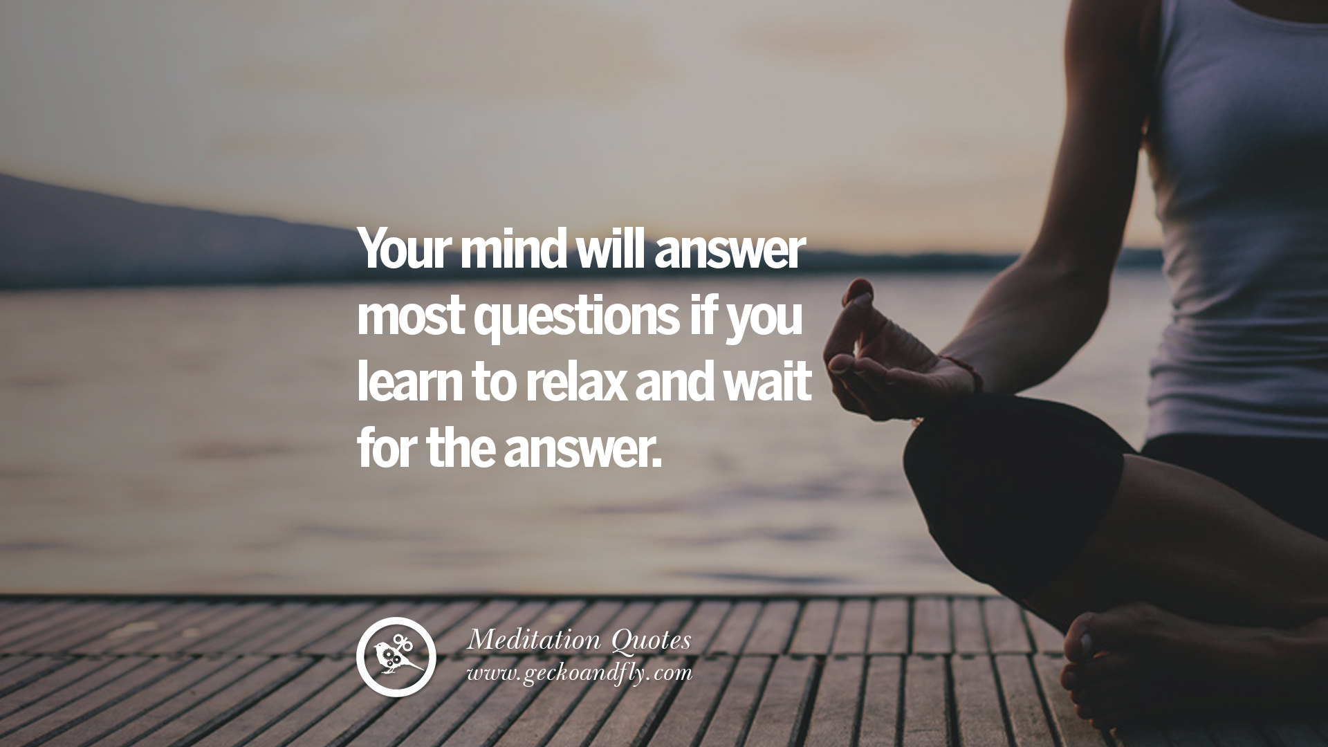 mind and meditation When you train your brain to be alert during meditation, you not only improve your emotional intelligence but also strengthen your mind tremendously.