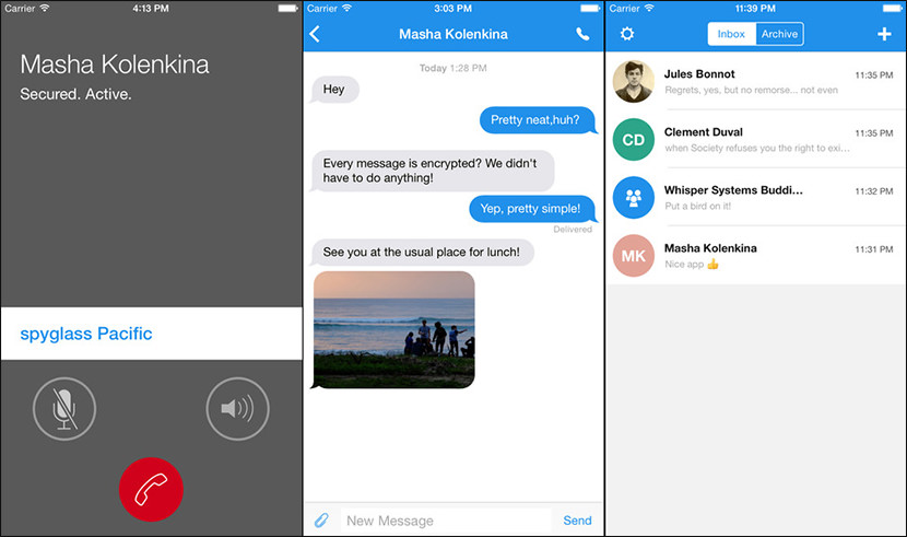 signal private chat Free Secure And Encrypted Text Messenger for iPhone iOS and Android