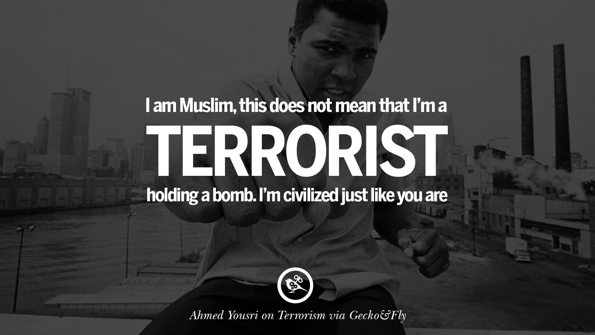 TERRORISM QUOTES