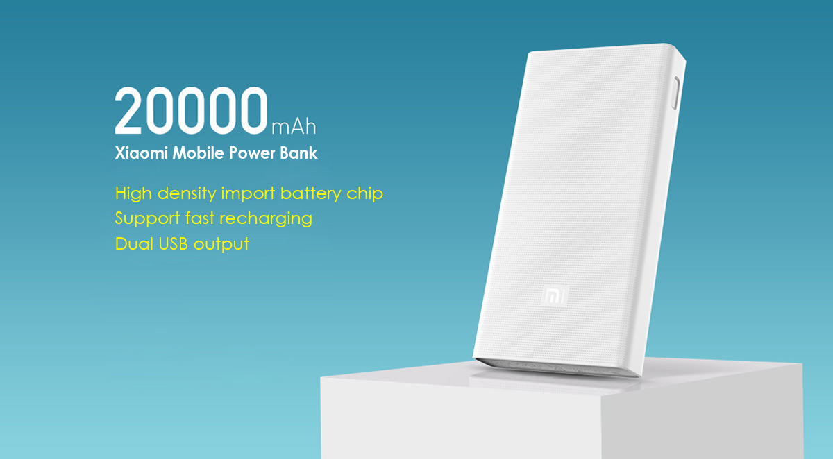 Xiaomi 20000 Mah Portable Usb Battery Pack Review