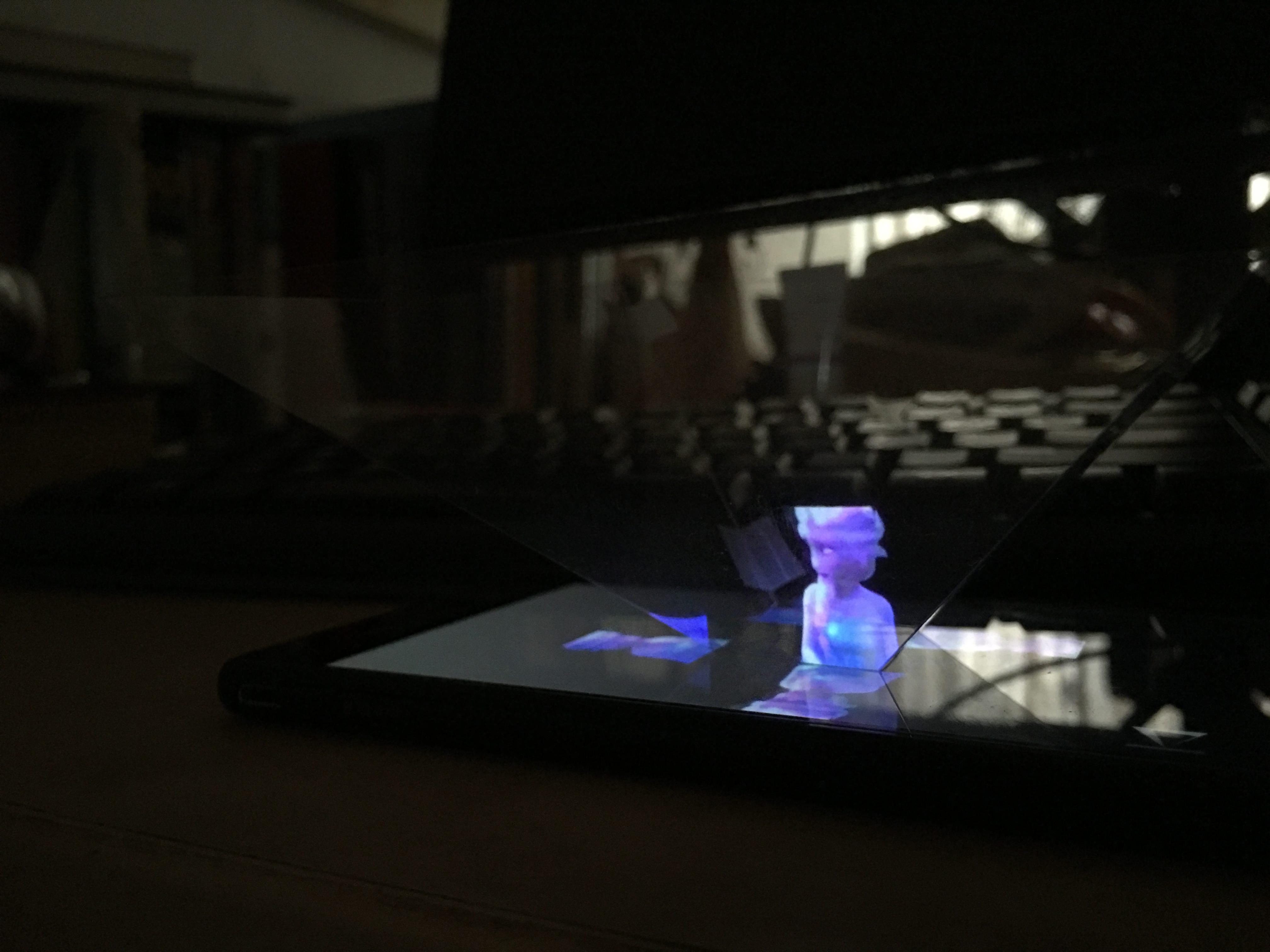 Голограмма на смартфоне своими руками 37