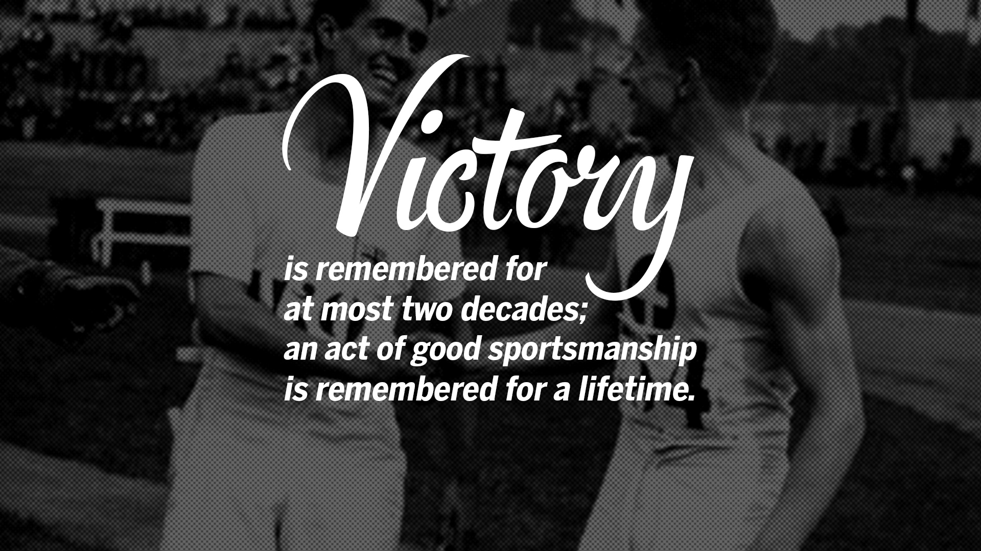 sportsmanship quotes teamwork inspirational sports victory cricket most team motivational sport football basketball remembered decades saying volleyball soccer games hockey