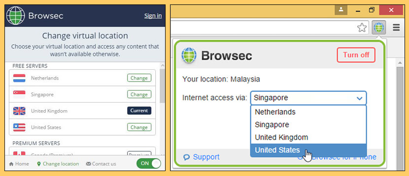 browsec Top 10 Free VPN Service With US UK Server With Best Speed
