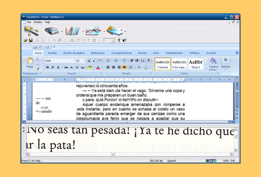 cuneiform Free OCR Software To Convert PDF Into Editable Word Text