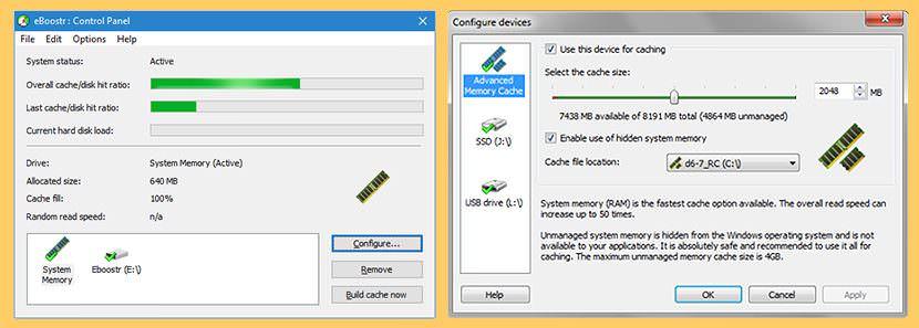 eboostr ram disk RAMDisk vs SSD - Ten Times Faster Read and Write Speed