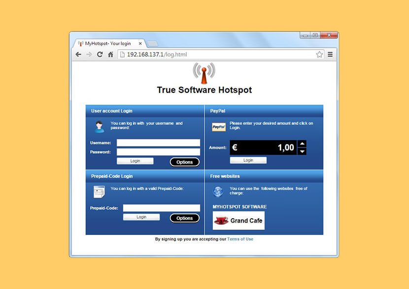 myhotspot Virtual Wifi Router For Hotels And Cafes With Bandwidth Control