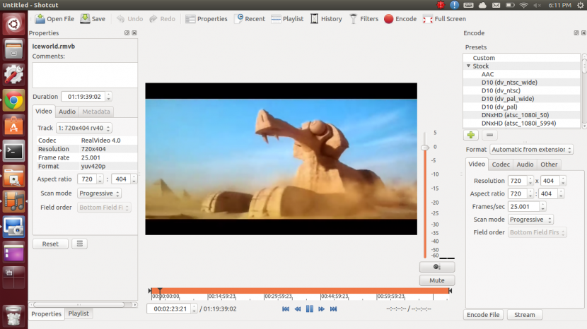shotcut ubuntu Free Video Editing Software For YouTube Movies And Film