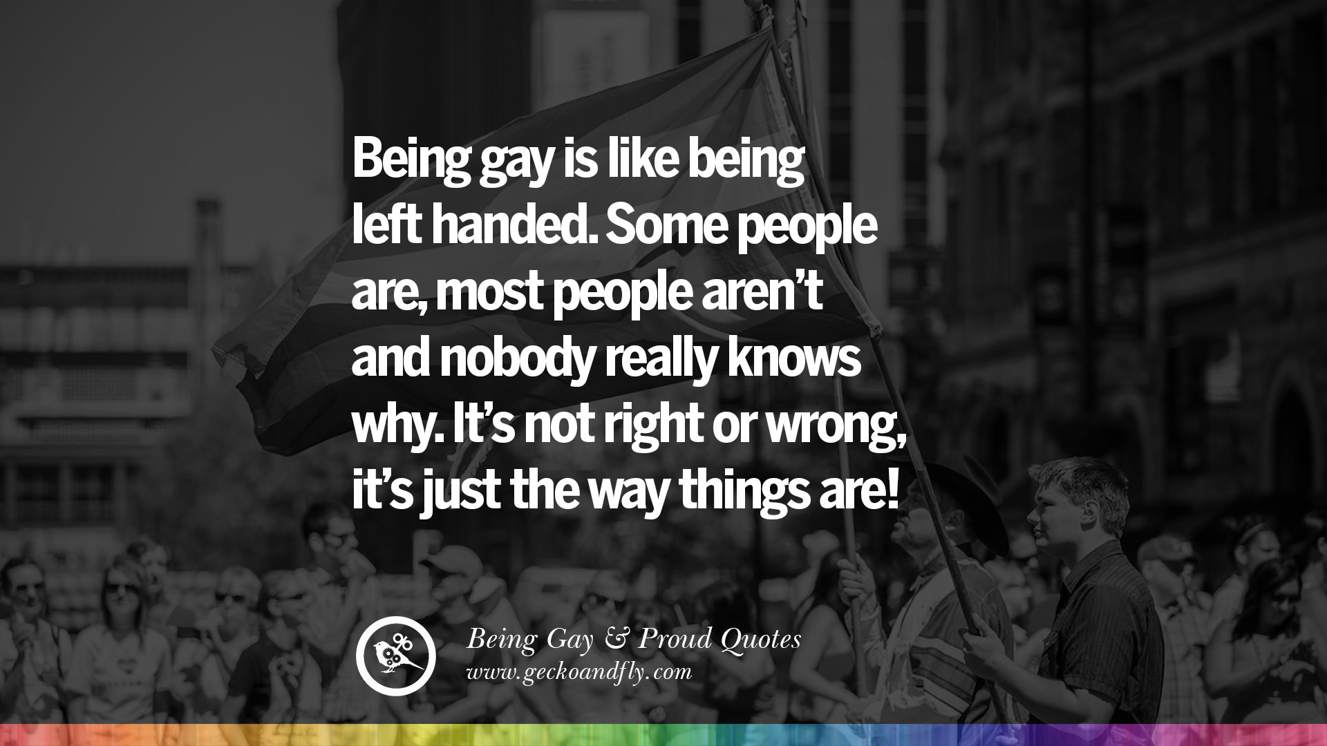 Being gay quotes