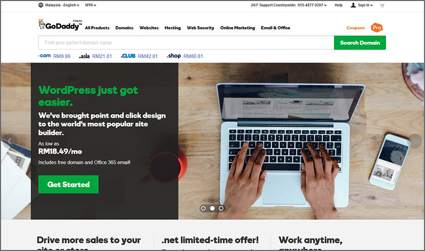 godaddy Cheap Yet Reliable Shared Web Hosting For WordPress Quality Best