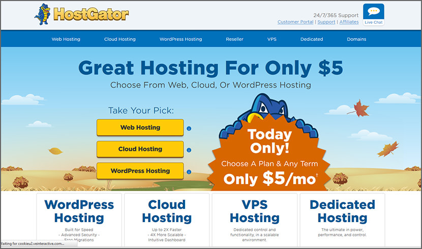 hostgator Cheap Yet Reliable Shared Web Hosting For WordPress Quality Best